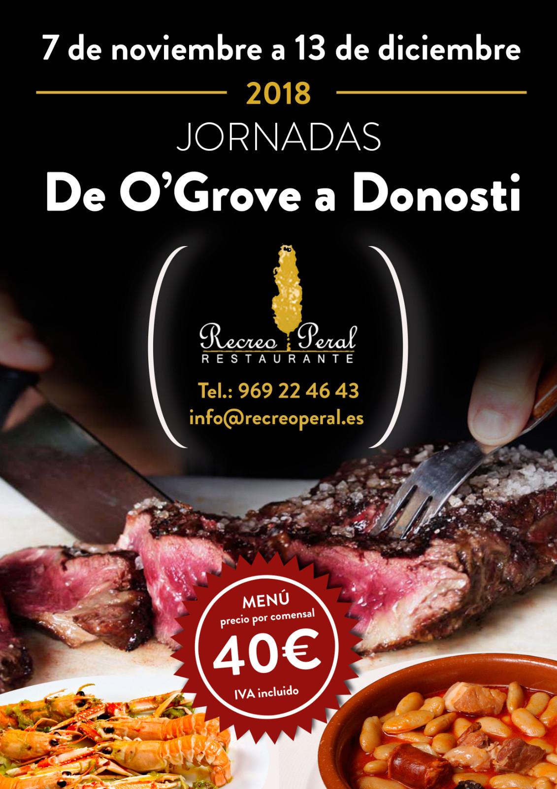 De O`Grove a Donosti